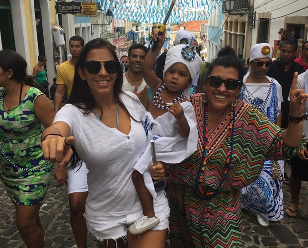 Benedita, Roque e Regina (Foto: Arquivo pessoal)