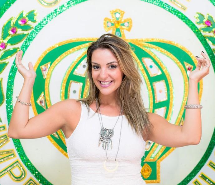 Paula Frascari desfilará no carro abre-alas da Império da Tijuca (Foto: Carlos Lucio/ Divulgação)
