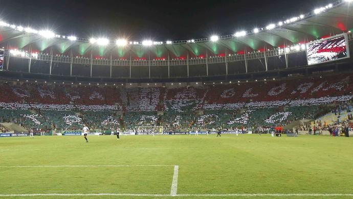 Mosaico Fluminense Maracanã (Foto: Marcelo de Jesus)