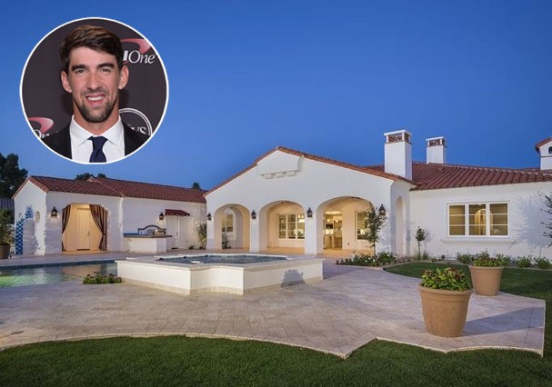 A nova mansão de Michael Phelps (Foto: HighResMedia/Divulgação)