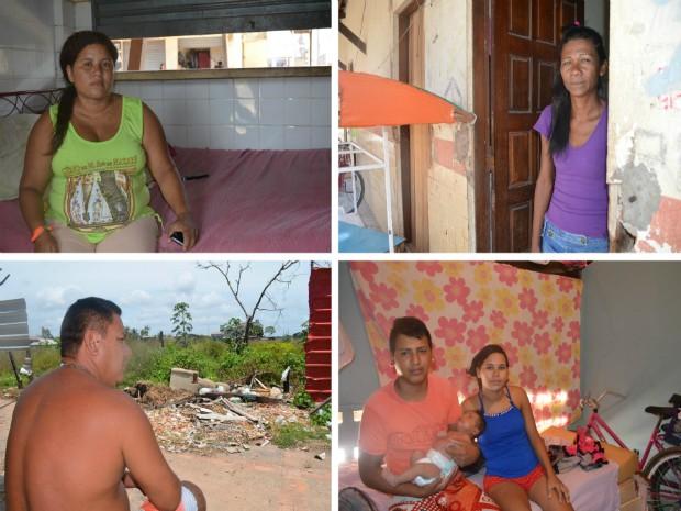 Famílias tem vontade igual de ter casa própria um ano após tragédia em Macapá (Foto: Abinoan Santiago/G1)