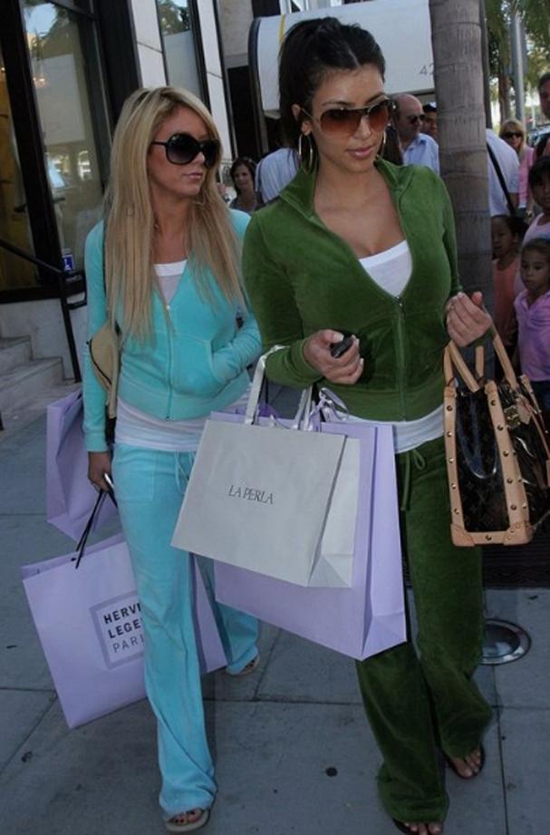 Especial anos 2000: os conjuntos de moletom à la Juicy Couture voltaram