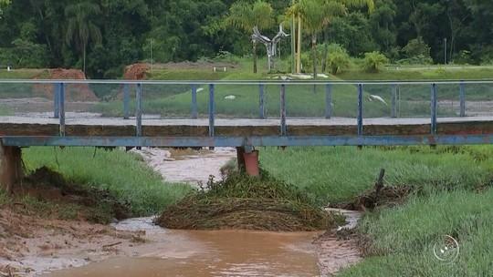 Araçariguama decreta situação de emergência por causa da chuva