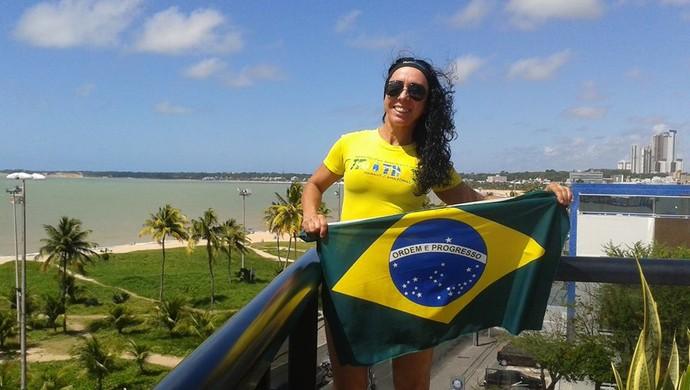 Bethe Avilla disputa o Mundial de Triathlon que acontece neste fim de semana em João Pessoa (Foto: Arquivo Pessoal)