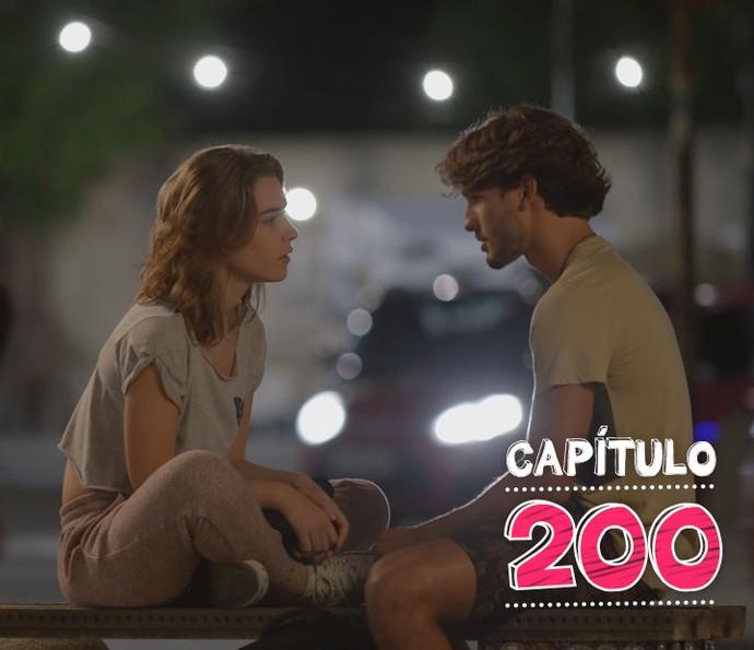 Flávia e Roger armam mais um plano para separar de vez o casal Ludrigo (Foto: TV Globo)