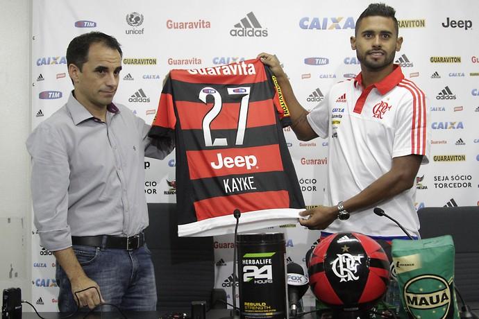 Kayke Rodrigo Caetano Flamengo (Foto: Gilvan de Sousa/ Flamengo)