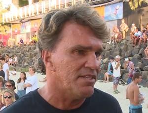 Renato Hickel, comissário adjunto da WSL (Foto: Reprodução)