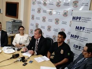 Até esta tarde de segunda-feira (24), 21 mandadsos de prisão tinham sido cumpridos (Foto: Andressa Azevedo/G1)