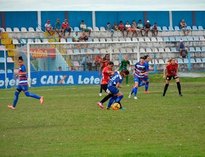 Vitória-PE 2 x 5 Adeco-SP - Brasileiro Feminino (Foto: Acadêmica Vitória / Divulgação / Facebook)