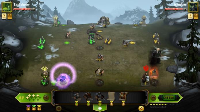 Mais voltado para os combates online, Conquest of Champions não possui um eficiente sistema para equilibrar o nível dos jogadores que se enfrentam (Foto: Divulgação/Kihon Inc.)