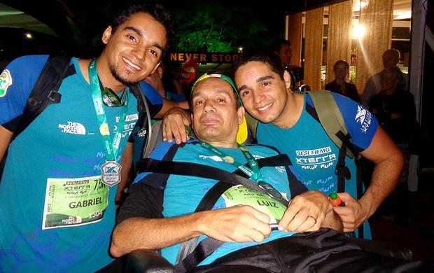 Luiz Cadeirante Eu Atleta (Foto: Fernanda Cansanção)