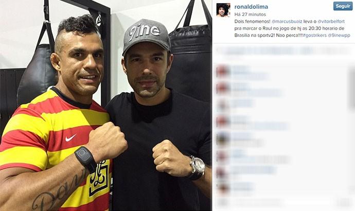 Ronaldo Vitor Belfort UFC