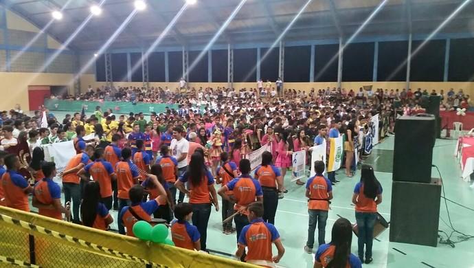Jogos Escolares do RN - Pau dos Ferros (Foto: Jorian Fontes)