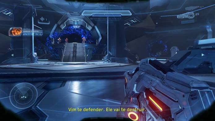 Halo 5: aprenda a derrotar o chefe final do game (Foto: Reprodução/Murilo Molina)
