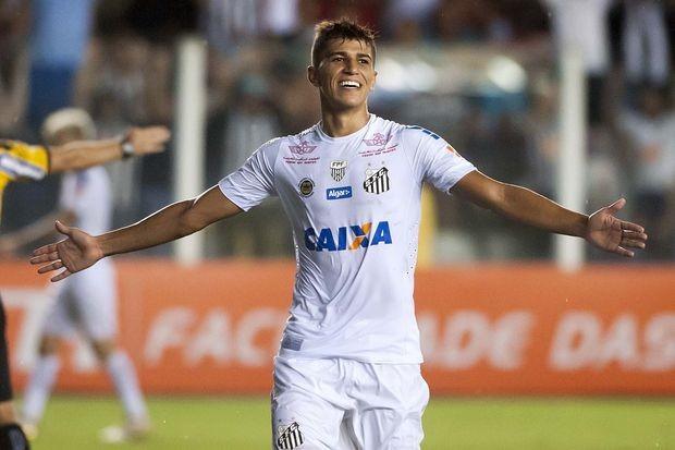Vitor Bueno (Foto: Ivan Storti/Santos FC)