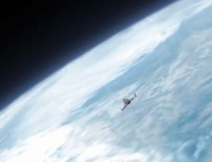FRAME Luigi Cani no espaço (Foto: Reprodução)