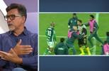 Comentaristas falam sobre o comportamento de Felipe Melo desde que voltou ao Brasil