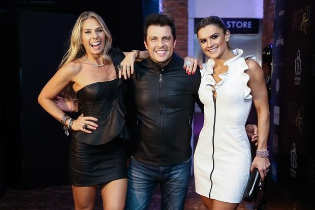 Adriane Galisteu, Ceará e Mirella Santos (Foto: Manuela Scarpa/Brazil News)