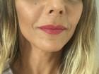 Viviane Araújo mostra maquiagem que usará na apuração das escolas do RJ