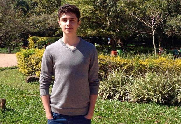 Guilherme Nazareth, de 19 anos, vai fazer parte da primeira turma da Minerva, a universidade sem salas de aula (Foto: Divulgação/Universidade Minerva)