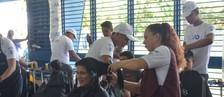 Mais de 40 serviços foram oferecidos (Jorge Abreu/G1)