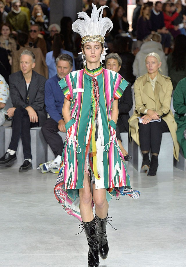 Sacai  (Foto: Getty/ Catwalking)
