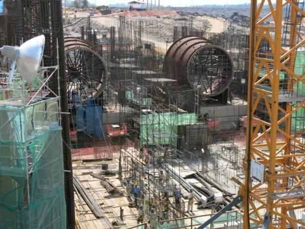 Fiscalização ocorreu nos quatro sítios da usina. (Foto: Divulgação/MPT)