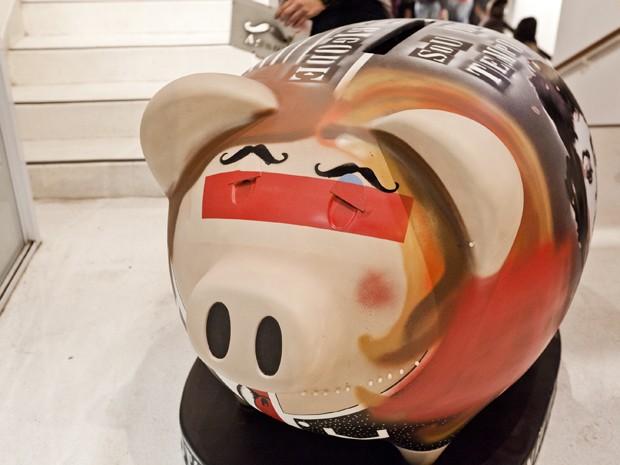 Porcos interativos serão espalhados por São Paulo a partir deste sábado (Foto: Divulgação/ André Seiti/ Itaú Cultural)