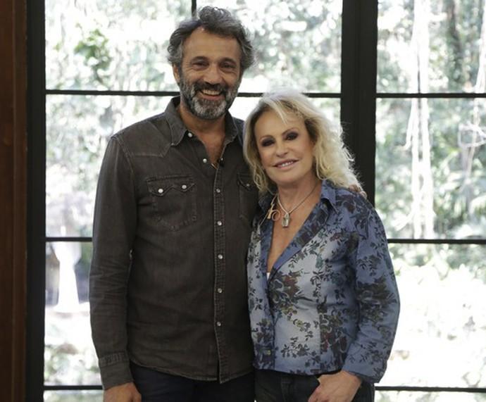 Ana Maria e Domingos Montagner (Foto: Artur Meninea/Gshow)