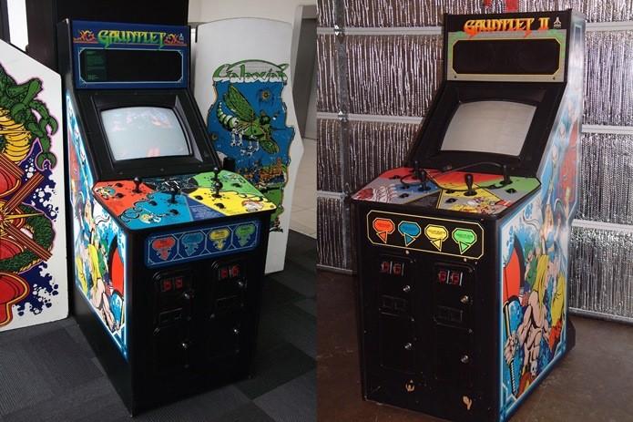 Máquinas de fliperama com Gauntlet (Foto: Reprodução / Arcadeheroes.com)