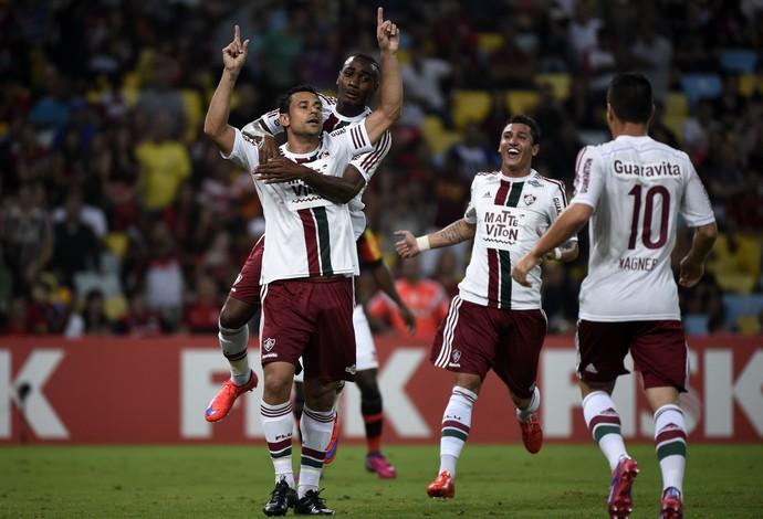 Fred, Flamengo x Fluminense (Foto: ANDRÉ DURÃO)