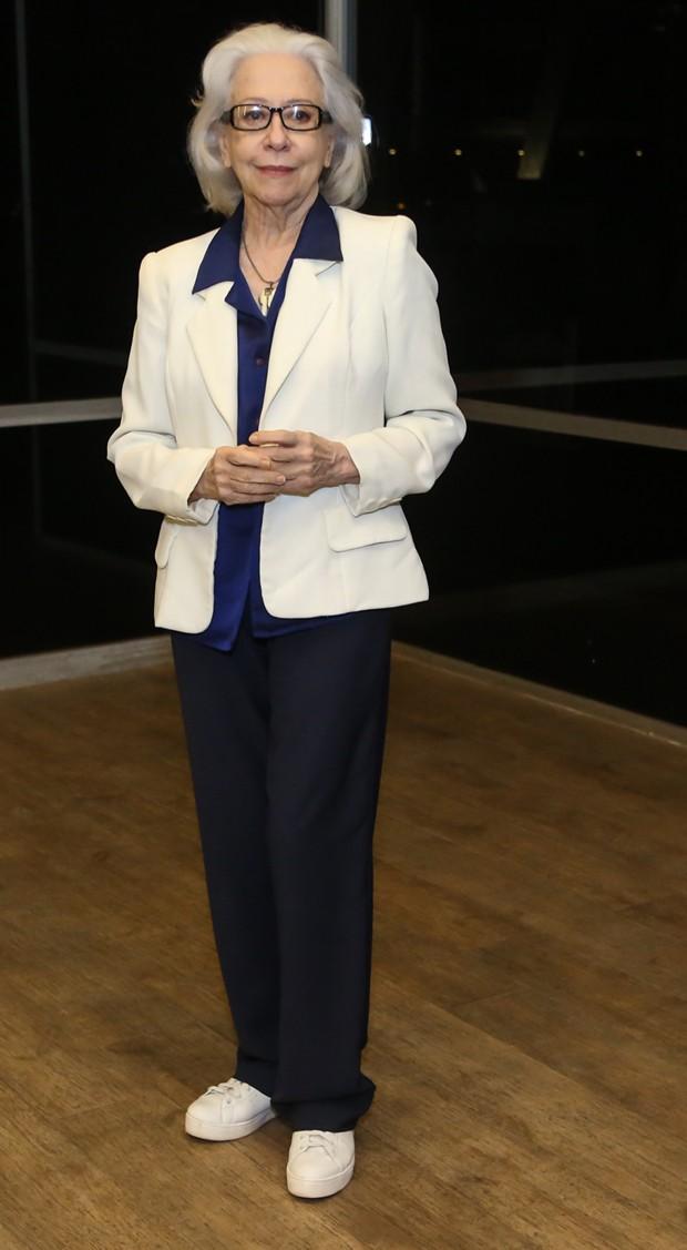 Fernanda Montenegro - Famosos no show de Chico Buarque no Vivo Rio, Rio de Janeiro, RJ. (07/01/18) Foto: Roberto Filho / Brazil News. (Foto: ROBERTO FILHO / BRAZIL NEWS)