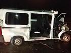 Estudante morre após van escolar bater em caminhão em Iaras