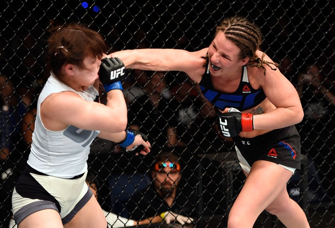 Leslie Smith Rin Nakai UFC Brisbane (Foto: Getty Images)