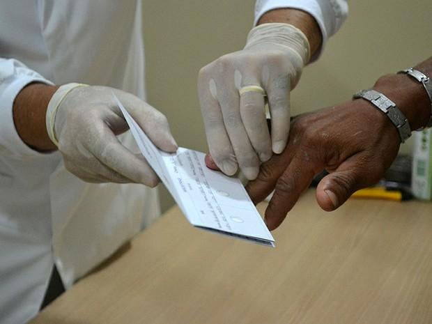 Mutirão de exames de DNA é feito em Porto Nacional (Foto: Divulgação/Defensoria Pública do Tocantins)