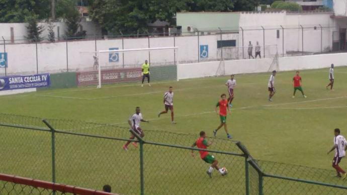 Primeiro tempo o Atlético virou; defesa de pênalti do goleiro do Atlético Roraima evitou empate (Foto: imagem/Divulgação)