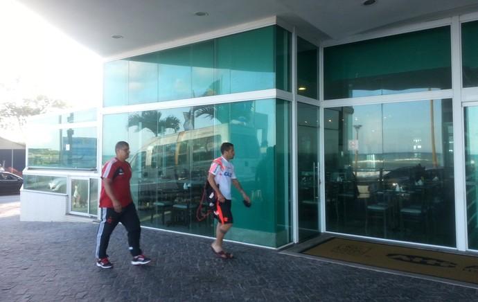 Canteros Flamengo (Foto: Thales Soares)
