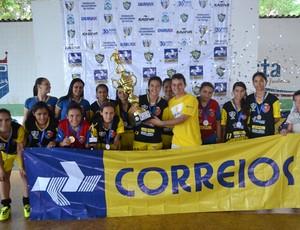 Estrela Real vence o Circuito Estadual de Futsal Feminino Sub-17, em Palmas (Foto: Divulgação/FTFS)