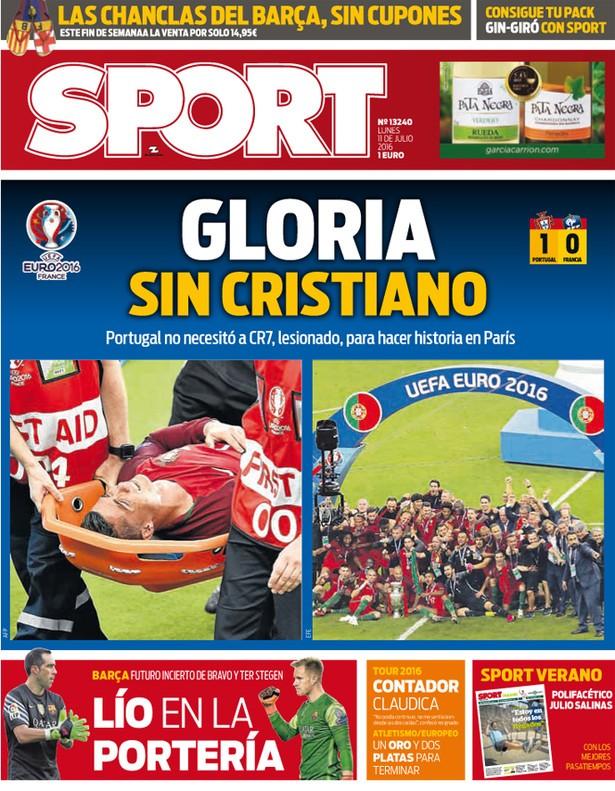 Capa Sport Portugal euro