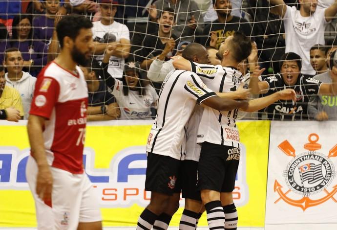 Corinthians Sorocaba Liga Paulista de Futsal (Foto: Renato Oliveira/Divulgação)