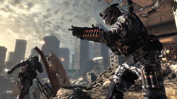 Cena do modo multiplayer de 'Call of Duty: Ghosts' (Foto: Divulgação/Activision)