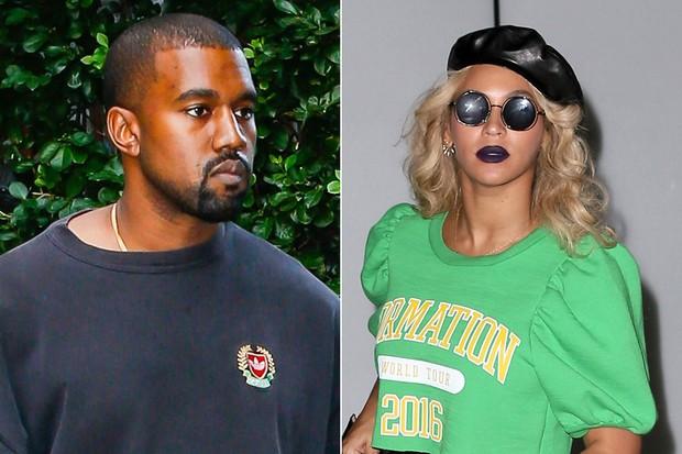 Kanye West e Beyoncé (Foto: AKM GSI)