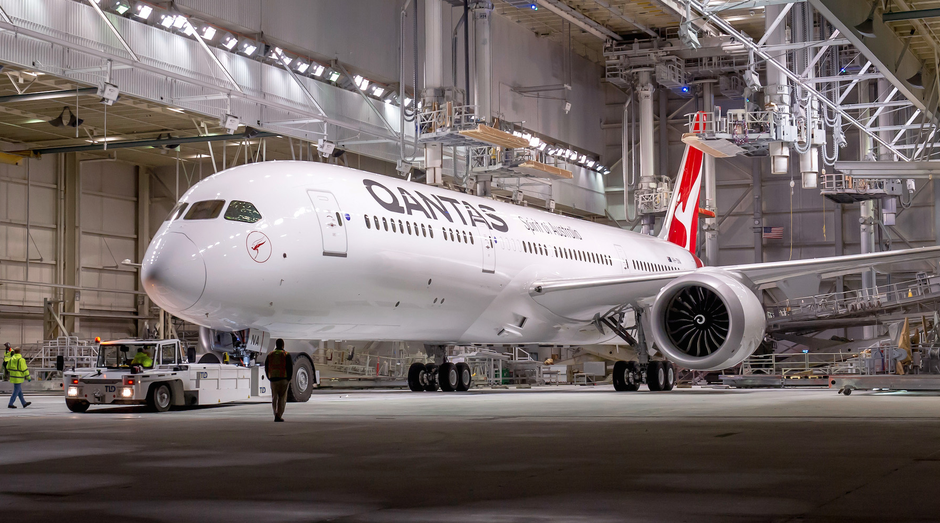 Boeing 787 da Qantas (Foto: Divulgação)