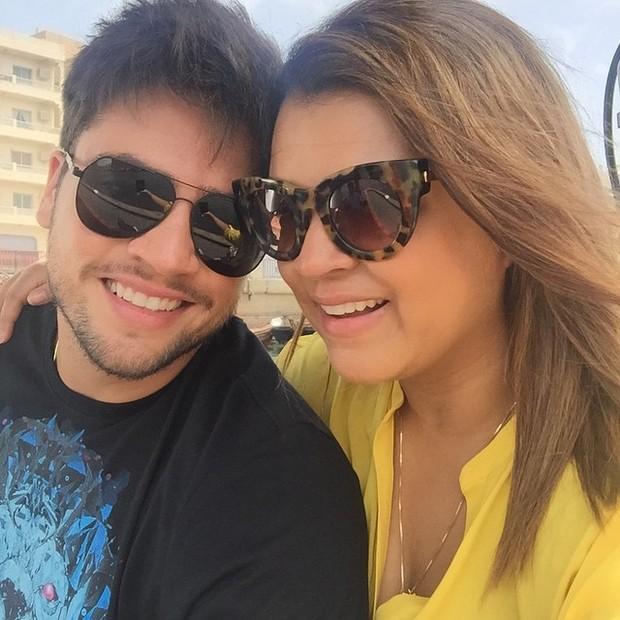 Preta Gil e Rodrigo Godoy durante lua de mel em Dubai (Foto: Instagram/ Reprodução)
