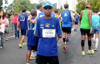 Márcio Miranda descobre a corrida depois de perder seus dois braços