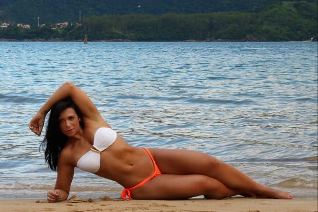 Musa fitness Carol Porcelli (Foto: Divulgação / MF Assessoria )