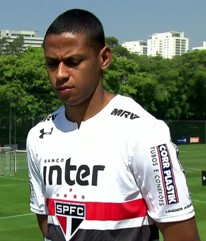 Bruno Alves, zagueiro do São Paulo (Foto: Reprodução SporTV)
