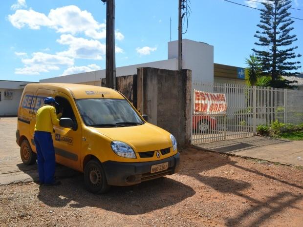 Sindicato pede contratação de carteiros para as agências do município (Foto: Jonatas Boni/G1)