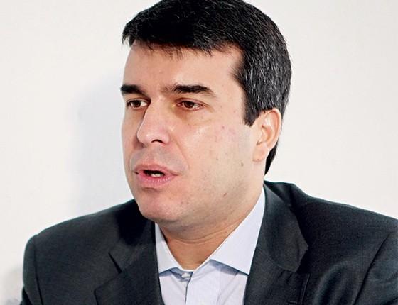 FORA DO PÁREO Rodrigo Bethlem, ex-secretário de Eduardo Paes. Com o escândalo, ele desistiu da reeleição como deputado federal (Foto: Thiago Lontra/Extra/Ag. Globo)