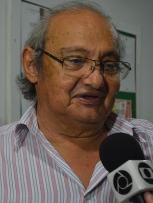 Petrônio Gadelha, presidente do Treze  (Foto: Larissa Keren / GloboEsporte.com)